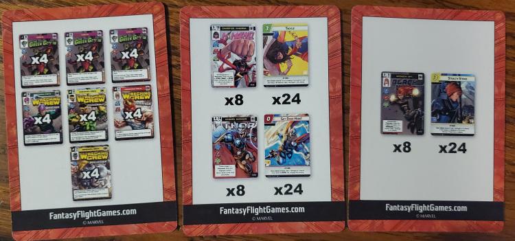 Marvel Champions LCG Launch Kit Promo PLAYMAT