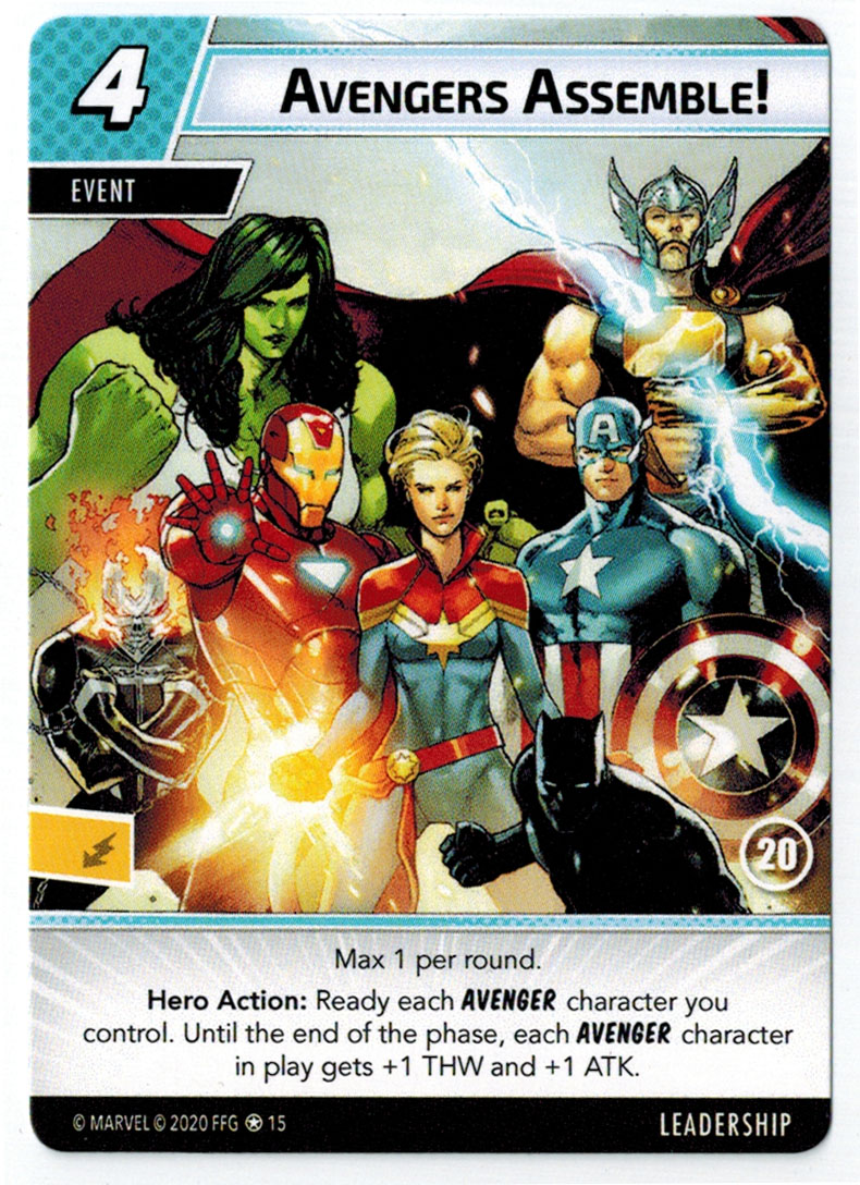 Marvel Champions LCG Thor Black Widow Ms Marvel Alt Art Promos Collection